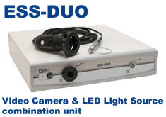 ESS-DUO: Combination Video Camera System and LED Light Source